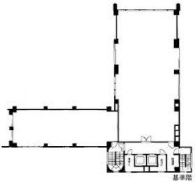 ミツボシ第3ビル:基準階図面