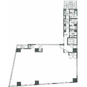 秋葉原サウスイーストビルディング:基準階図面