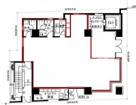 SN岩本町ビル:基準階図面