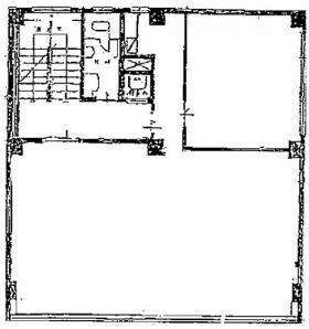 都第1ビル:基準階図面