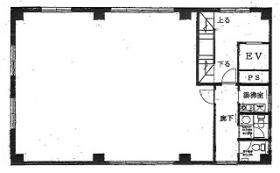 開盛館ビル:基準階図面