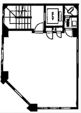 上田錦町ビル:基準階図面