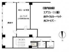 第1大隆ビル:基準階図面