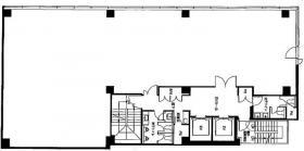 名古路ビル新館:基準階図面