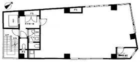 神田錦町ビル:基準階図面