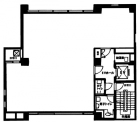 新・荒井ビル:基準階図面