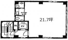 KS司町ビル:基準階図面