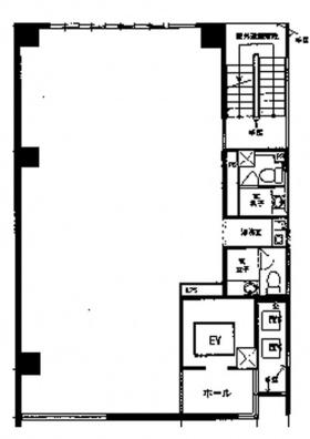 タニグチビル:基準階図面