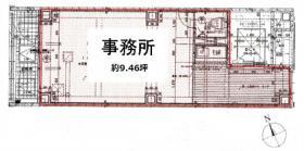 駿河台ARAI BLDG:基準階図面