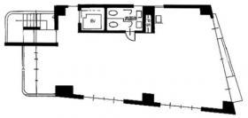 お茶の水桜井ビル:基準階図面