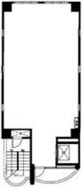 大雅ビル:基準階図面