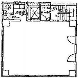烏山お茶の水ビル:基準階図面