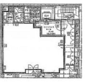 三五ビル:基準階図面