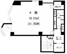 Y101ビル:基準階図面