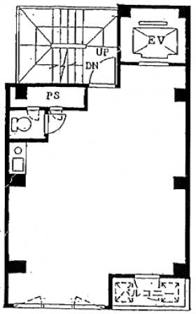 野村第1ビル:基準階図面