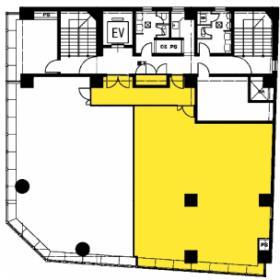 紀陽東京ビル:基準階図面