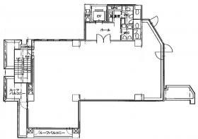 東英小川町ビル(旧:JP小川町):基準階図面