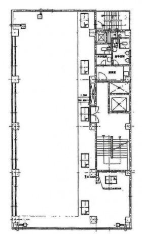 晴花ビルディング:基準階図面