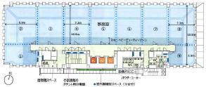 砂防会館 本館 3F 216.13坪(714.47m<sup>2</sup>) 図面