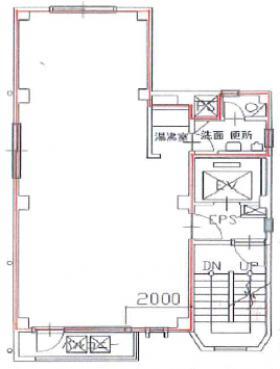 ニュー駿河台ビル:基準階図面