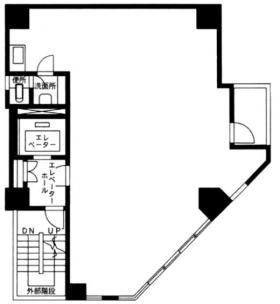 栄立ビル:基準階図面