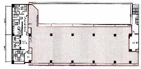 東麻布1丁目ビル:基準階図面