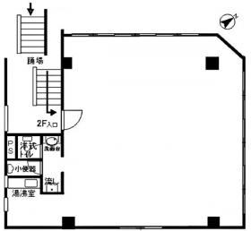ケイアイシャトービル:基準階図面