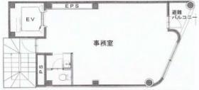 旭町米山ビル:基準階図面