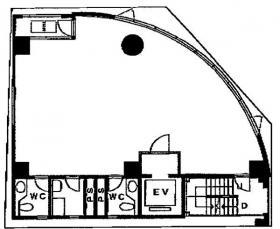 第108東京ビル:基準階図面