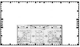 品川シーサイドウエストタワー:基準階図面