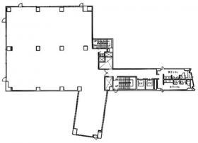 JL日本橋ビル:基準階図面