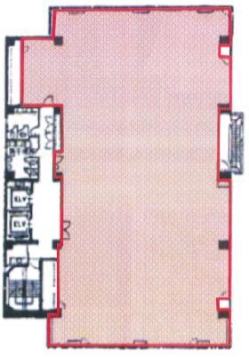 メヂカルフレンドビル:基準階図面
