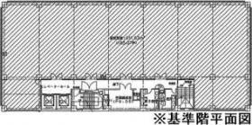 東大手ビル:基準階図面