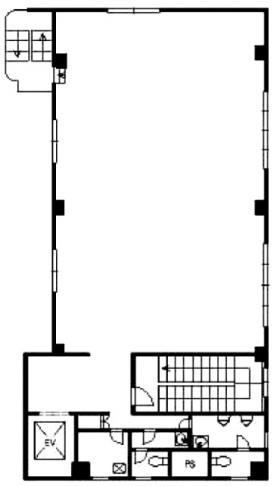 ミヤコビル:基準階図面