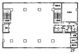 豊島屋ビル:基準階図面