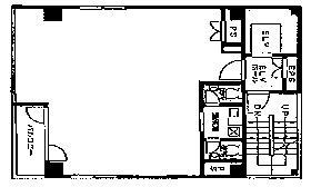 九段岡澤ビル:基準階図面
