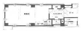 サンキビル:基準階図面
