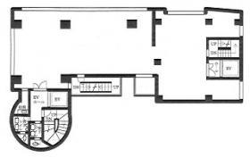 第8菊星タワービル:基準階図面