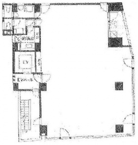 ツバメグロースビル:基準階図面