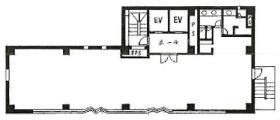 浅草橋TH(旧:キムラビル)ビル:基準階図面