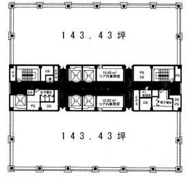 新お茶の水ビル:基準階図面