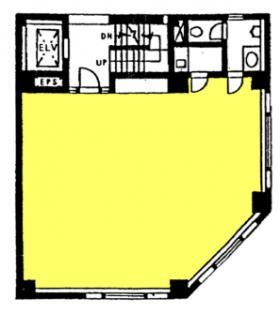 イトウパートⅢビル:基準階図面