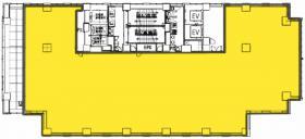 目黒ヒルトップウォークビル:基準階図面