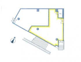 MFPR代々木タワー(旧クレジデンス代々木タワー)ビル:基準階図面