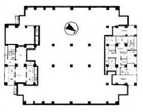 スフィアタワー天王洲:基準階図面