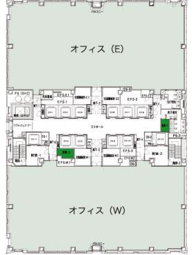 日立ソリューションズタワーB:基準階図面