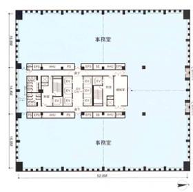 品川シーサイドサウスタワー:基準階図面
