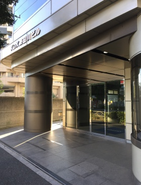 KDX東品川ビル(旧P'S東品川)のエントランス