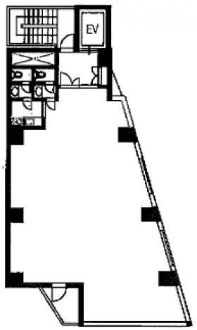セントポールビル:基準階図面