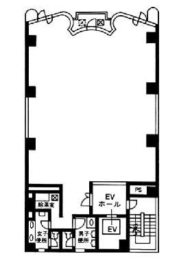 タイセイビル:基準階図面